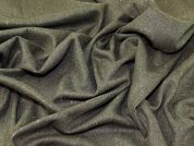 Lady McElroy Wool Tweed Suiting Fabric  Olive Green