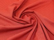 Lady McElroy Wool Suiting Fabric  Red