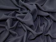 Lady McElroy Wool Coating Fabric  Denim Blue