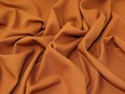 Lady McElroy Wool Stretch Suiting Fabric  Rust