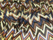 Lady McElroy Lurex Sheer Knit Fabric  Multicoloured