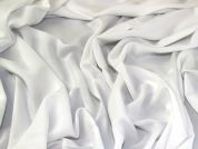 Lady McElroy Viscose Challis Fabric  Optic White