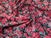 Lady McElroy Stretch Cotton Fabric  Pink