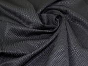 Lady McElroy Stretch Suiting Fabric  Black