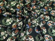 Lady McElroy Cotton Lawn Fabric  Black