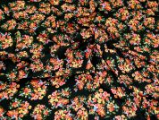 Lady McElroy Viscose Challis Fabric  Multicoloured