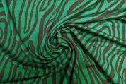 Lady McElroy Crepe Jersey Knit Fabric  Green