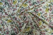 Lady McElroy Tencel Lawn Fabric  Multicoloured