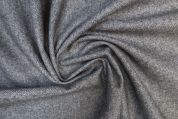 Lady McElroy Donegal Tweed Coating Fabric  Grey