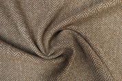 Lady McElroy Wool Coating Fabric  Camel Brown