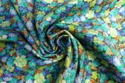 Lady McElroy Stretch Needlecord Fabric  Multicoloured