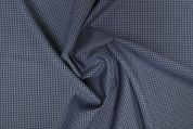 Lady McElroy Wool Suiting Fabric  Marine Blue