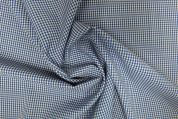 Lady McElroy Wool Suiting Fabric  Blue