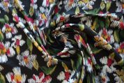 Lady McElroy Silky Satin Fabric  Multicoloured