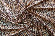Lady McElroy Cotton Jersey Knit Fabric  Brown