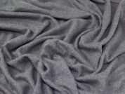 Lady McElroy Boiled Wool Knit Fabric  Dove Grey