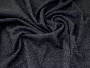 Lady McElroy Boiled Wool Coating Fabric  Charcoal
