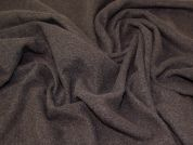 Lady McElroy Boucle Wool Coating Fabric  Brown
