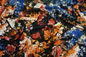 Lady McElroy Sweater Knit Fabric  Multicoloured