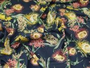 Lady McElroy Cotton Lawn Fabric  Marine