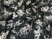 Lady McElroy Cotton Lawn Fabric  Grey
