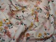 Lady McElroy Blush Vine Cotton Lawn Dress Fabric