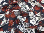 Lady McElroy Bursts of Beauty Cotton Lawn Dress Fabric