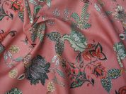Lady McElroy Continental Blooms Cotton Twill Dress Fabric