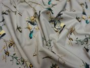 Lady McElroy Dawn Chorus Cotton Poplin Dress Fabric