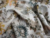 Lady McElroy Enchanting Vine Cotton Twill Dress Fabric