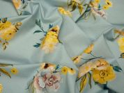 Lady McElroy English Bloom Cotton Poplin Dress Fabric