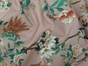 Lady McElroy Morning Glory Cotton Poplin Dress Fabric