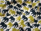 Lady McElroy Noble Elephance Cotton Lawn Dress Fabric