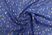 Lady McElroy Marlie Cotton Lawn Fabric  Marine