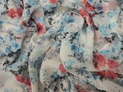 Lady McElroy Polermo Polyester Chiffon Dress Fabric