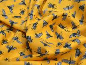 Lady McElroy Safari Flies Cotton Lawn Dress Fabric