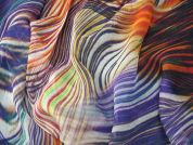Lady McElroy Seville Silk Chiffon Dress Fabric
