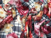 Lady McElroy St.Helier Polyester Satin Dress Fabric
