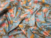 Lady McElroy Vintage Rose Cotton Poplin Dress Fabric