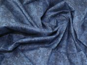 Liberty Cotton Lawn Fabric  Midnight