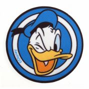 Motif Printed Disney Donald Duck Iron On Motif