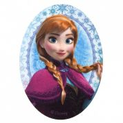 Disney Ana from Frozen Iron On Motif