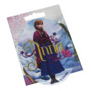 Oval Anna from Frozen Iron On Motif