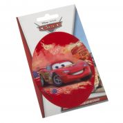 Oval Lightning McQueen from Cars Iron On Motif