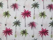 Digital Print Cotton Fabric  Pink