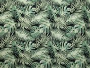 Exotic Digital Print 100% Cotton Dress Fabric  Green
