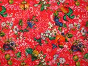 Frutto Digital Print 100% Cotton Dress Fabric  Multicoloured