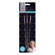 DoCrafts Little Venice Cake Company Baking Acrylic Paint Brushes