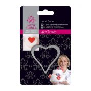 DoCrafts Little Venice Cake Company Baking Heart Cutter