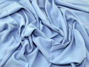 Soft Plain Woven Viscose Dress Fabric  Sky Blue